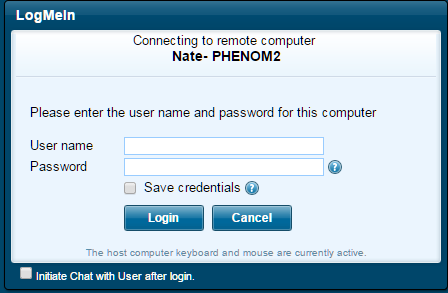 Using LogMeIn to Remotely Control your Computer / Transfer